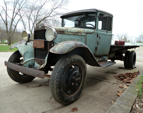 1930 Model AA Ford Flatbed | Ohio. Driving down a country ...