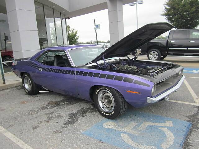 1970 Plymouth Cuda Aar Chrysler Product Owners Club