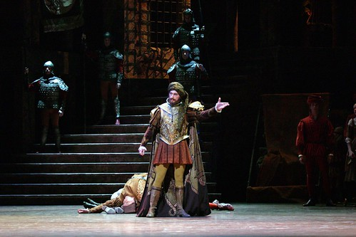 Bennet Gartside as Escalus in Romeo and Juliet © Johan Persson/ROH 2004 | by Royal Opera House Covent Garden