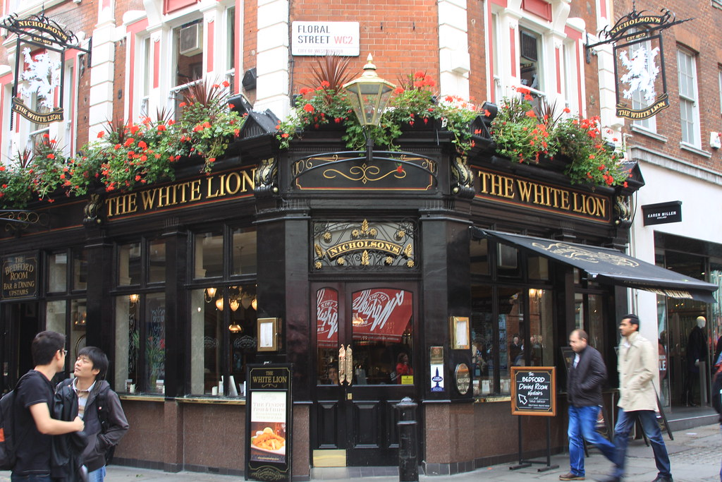 The White Lion Pub: London, England David Barber Flickr