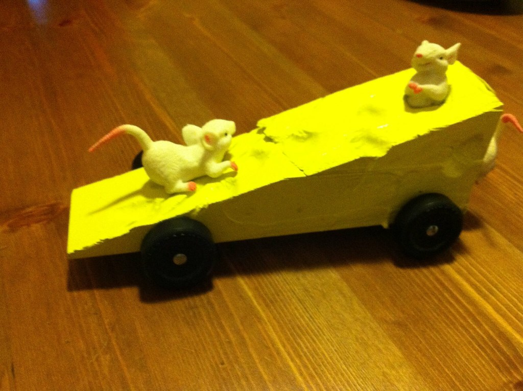 Pinewood Derby Cheese Car Bradintheusa Flickr