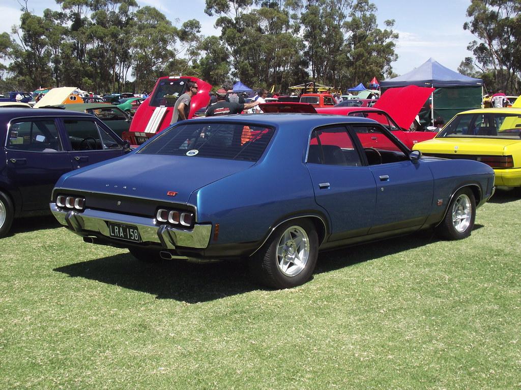 1972 Ford XA Falcon GT | This XA Falcon GT was in showroom ...  1972 Ford XA Fa...