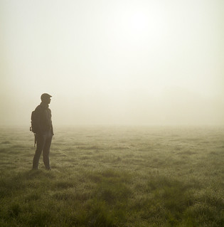Me in the early morning fog | by Peter Hagelaar