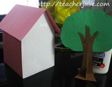 Paper house and Paper tree | by greenbucks