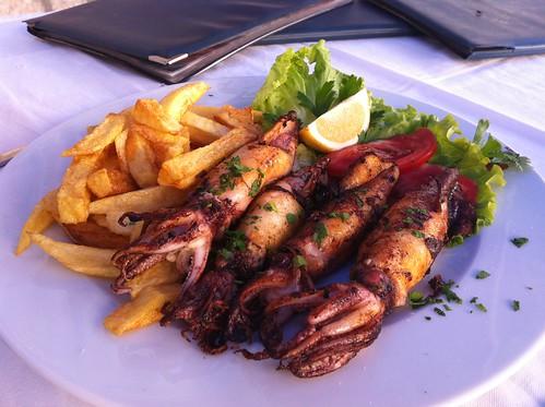 grilled calamari lazy goat s grilled calamari grilled calamari with ...