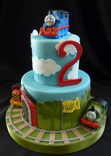 Thomas the Train cake | by RebeccaSutterby