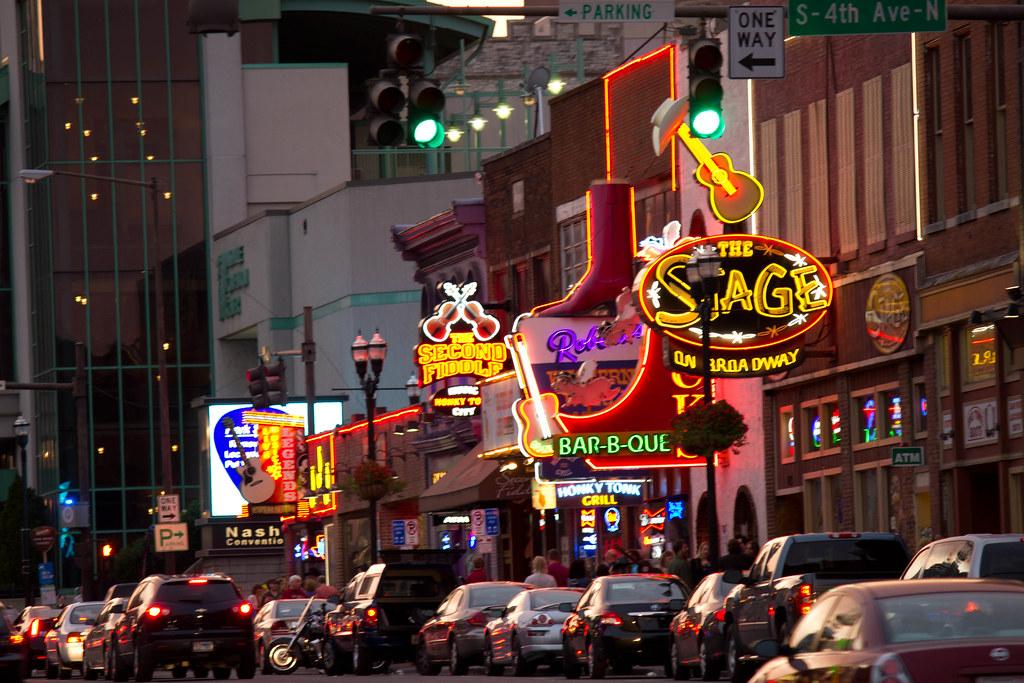 Lower Broadway Downtown Nashville Chip Glover Flickr