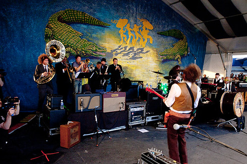PHJB and My Morning Jacket at Jazzfest 2010 | by Preservation Hall