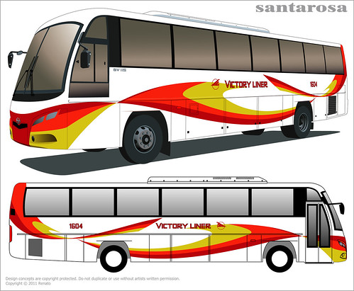 Proposed Livery for Victory Liner : Some changes on the posi ...