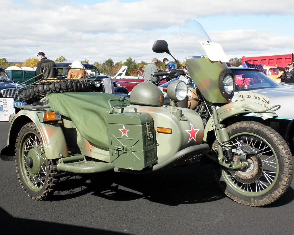 2006 Ural Sidecar Military Motorcycle 2011 Greenwood