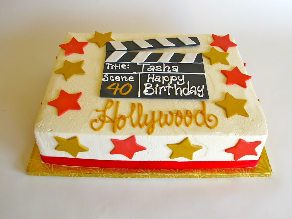 Hollywood Cake Ideas