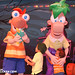 phineas & ferb meet their twins :)