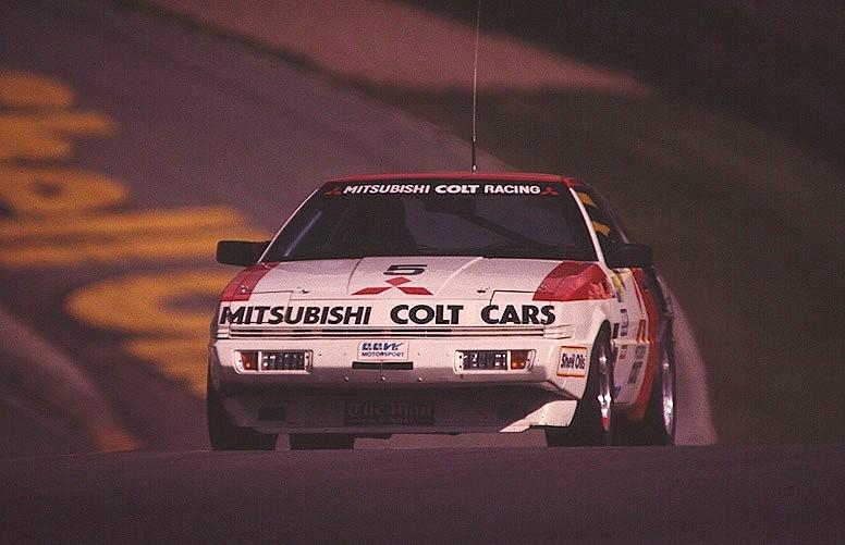 Car Street Race >> Mitsubishi Colt Starion ( Driver Dave Brodie ) - BTCC 1985… | Flickr