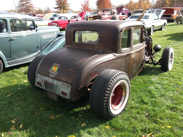 1932 Ford Coupe Rat Rod