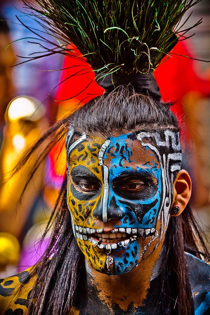 Aztec Face Paint History