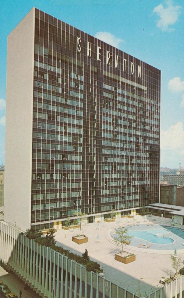 Sheraton-Columbus Motor Hotel - Columbus, Ohio