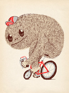 Hairy on a fixie | by Bert van Wijk