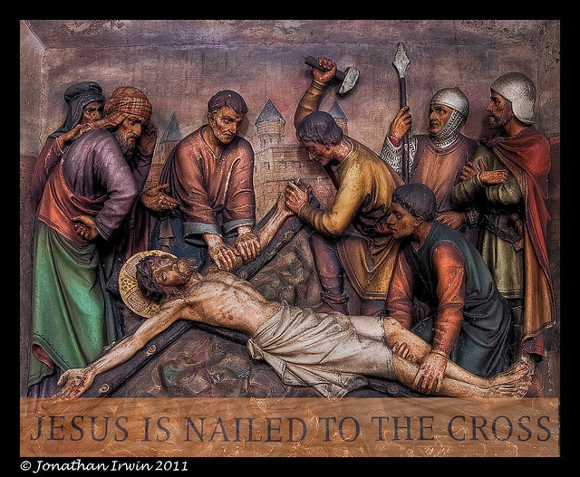 Jesus Is Nailed To The...