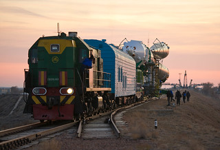 Expedition 29 Soyuz Rollout (201111110007HQ) | by NASA HQ PHOTO