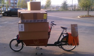Delivery of bikes and parts to Fedex | by ubrayj02