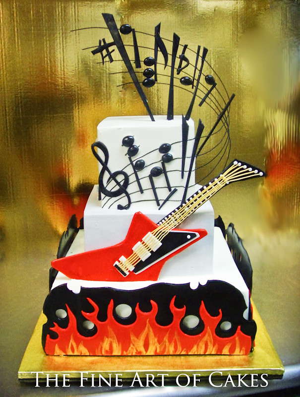 Rock Of Ages Cake 5005