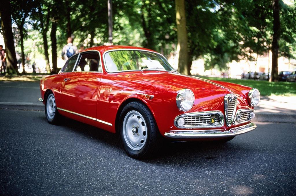 1959 Alfa Romeo Giulietta Sprint Last Summer During The Al Flickr