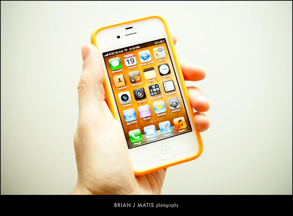 Orange Mobile Iphone S