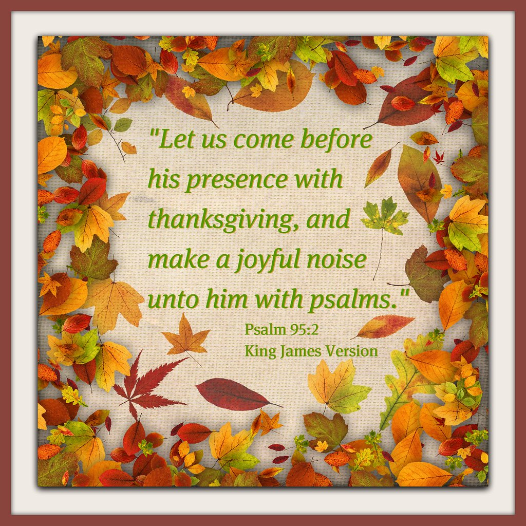 thanksgiving bible psalms