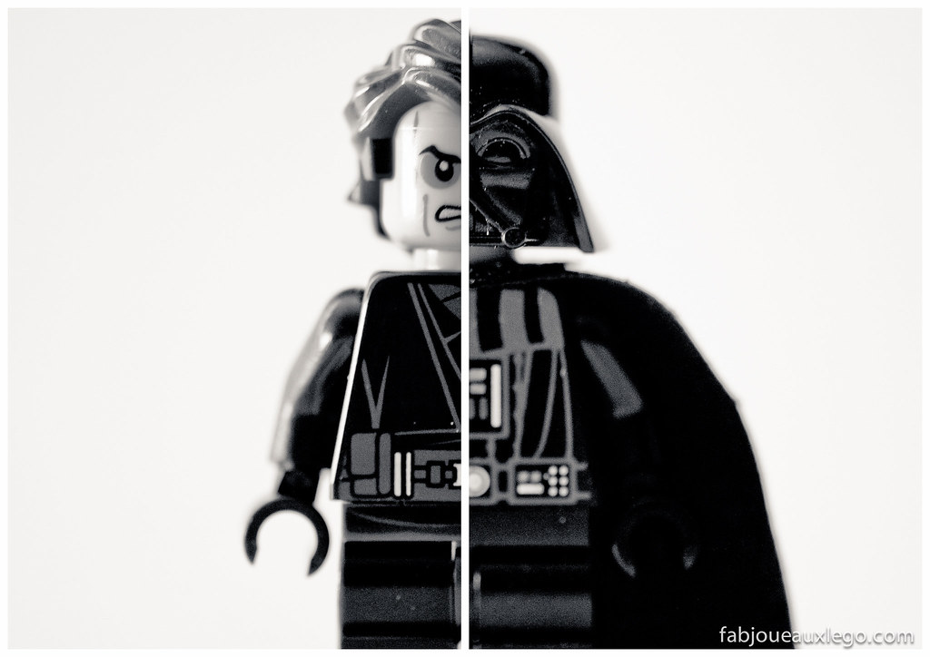 Anakin skywalker darth vader - Lego star wars avec dark vador ...