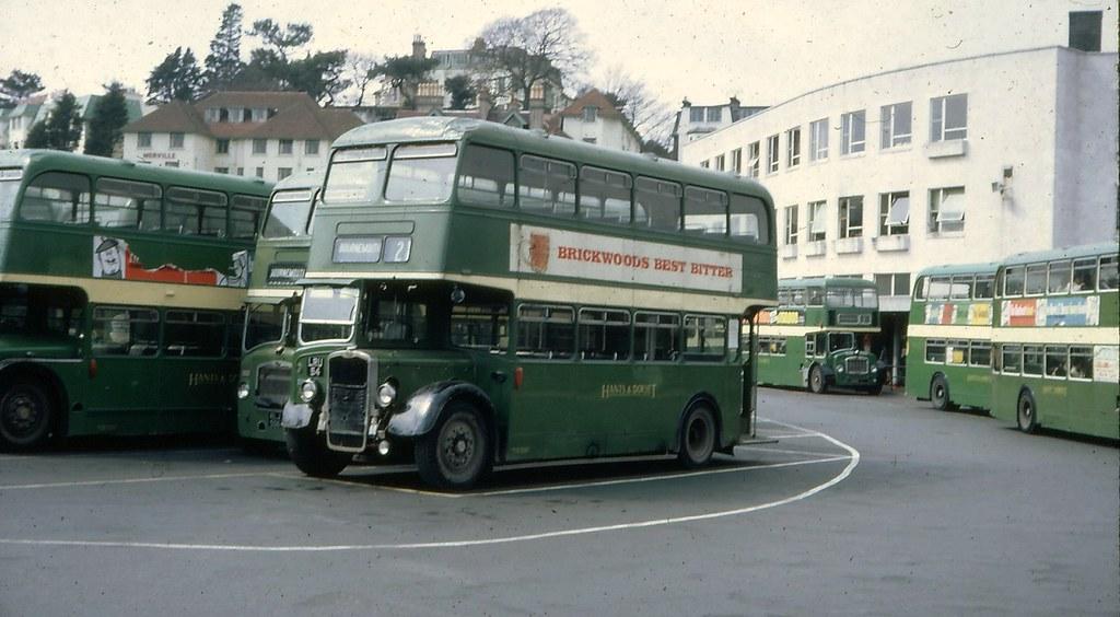 Bournemouth Bus Station 1968 Bournemouth Bus Station