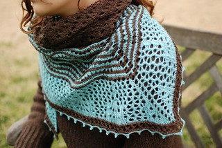 Hecate shawl by Kirsten Kapur of Through the Loops - Photos by Kirsten Kapur | by RockyMoreno