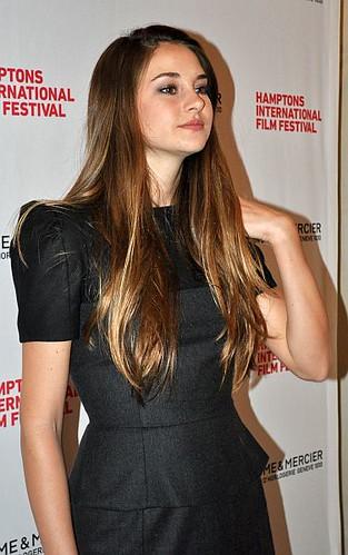 Shailene Woodley Actress Shailene Woodley Attends The