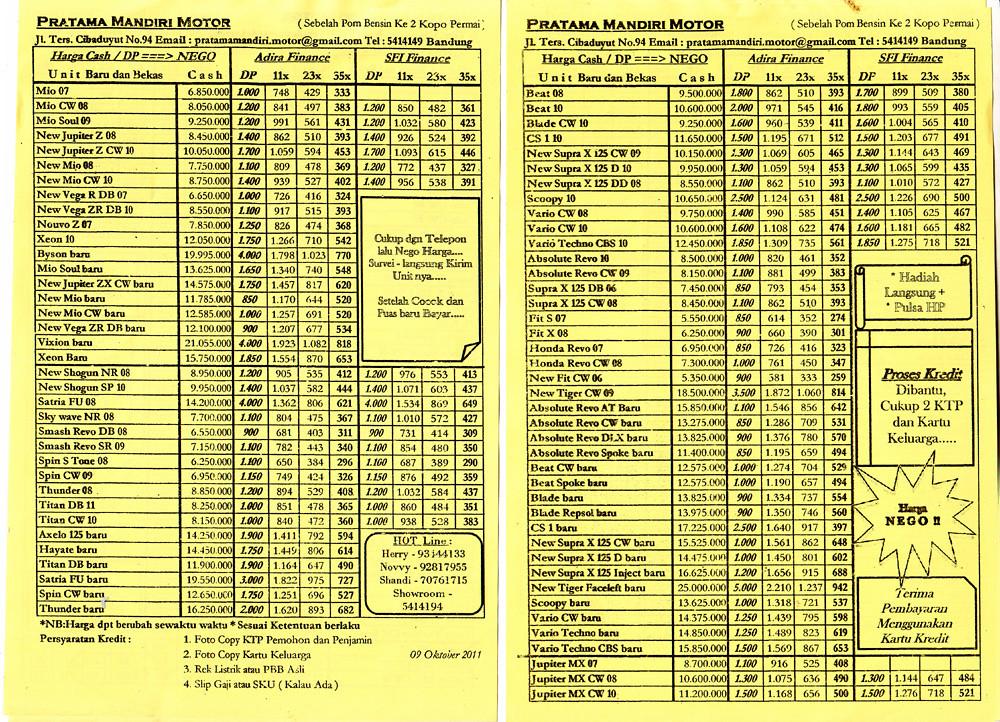 Tabel Angsuran Kredit Plus - Info Angsuran Kredit Bank