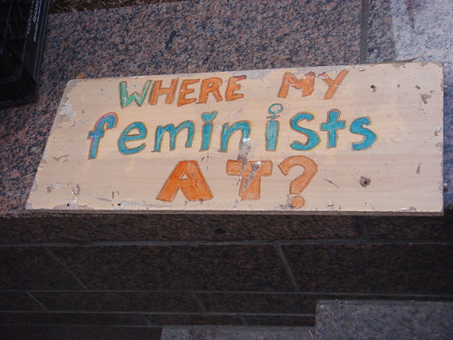 Connecting with fellow feminists | by Jagz Mario