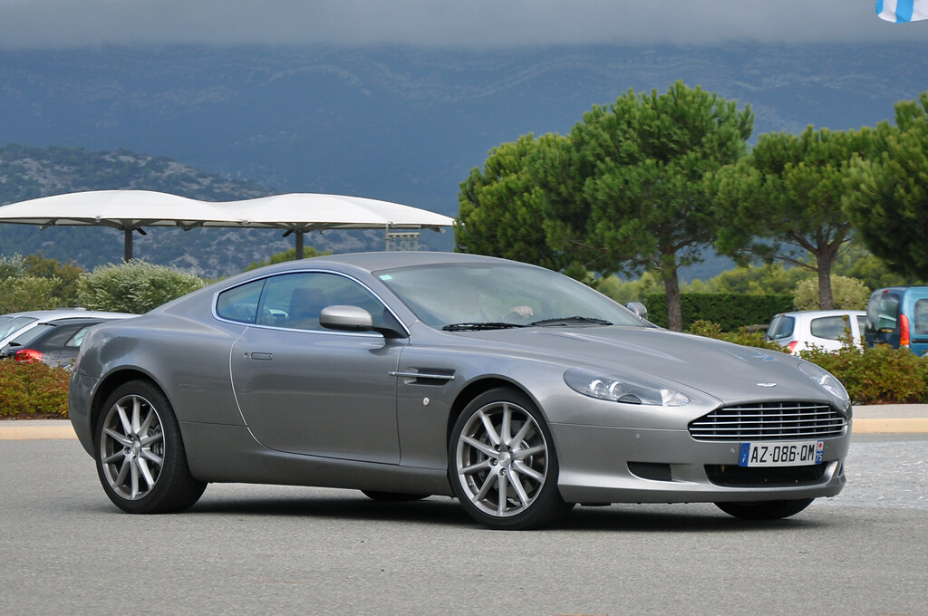 aston martin db9 coup grand prix historique de provence 2 flickr. Black Bedroom Furniture Sets. Home Design Ideas