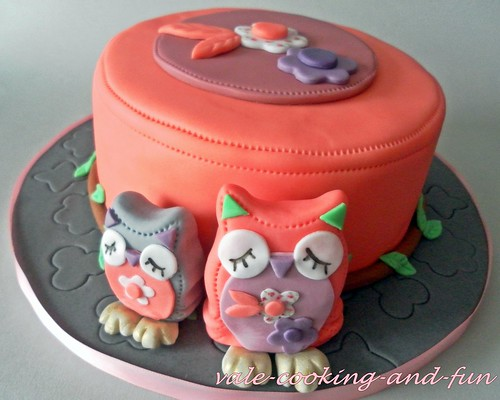 Owl Cake Cooking Games