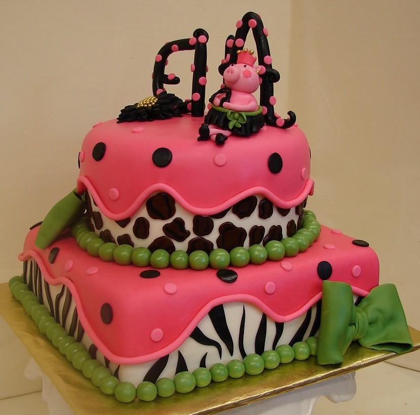 Pink Diva Birthday Cake Pink Diva Birthday Cake Designed Flickr