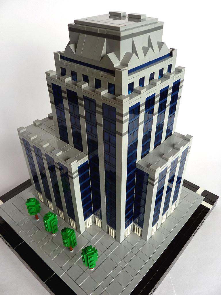 lego micropolis moc euroclear operation center 02 brusse. Black Bedroom Furniture Sets. Home Design Ideas