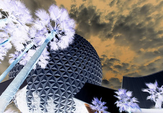 Inverted Spaceship Earth Epcot | by SRG9703
