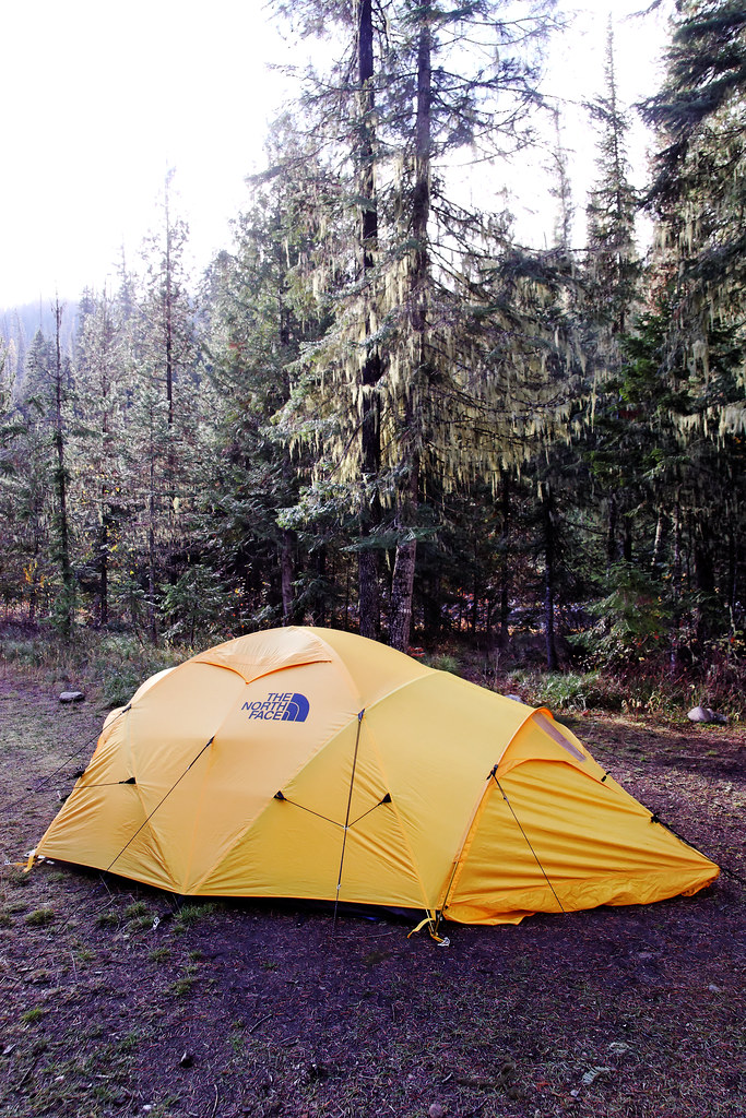 ... North Face Evolution 45 Expedition Tent in a Forest Clearing | by CT Young & North Face Evolution 45 Expedition Tent in a Forest Cleariu2026 | Flickr