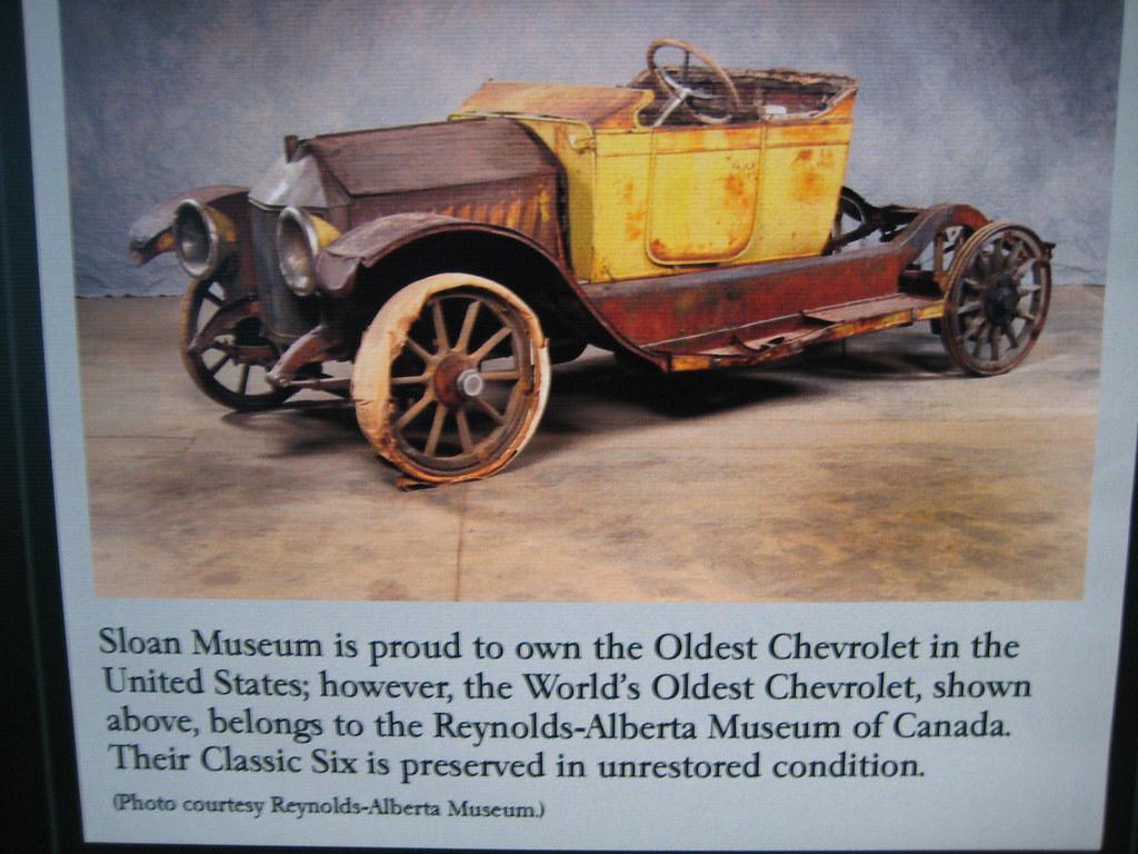World S Oldest Chevrolet 1913 Reynolds Alberta Museum Flickr