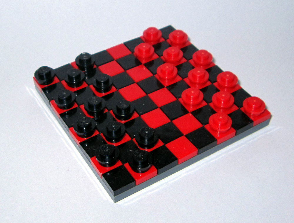 A game of checkers turns sexual for young sofy - 1 7
