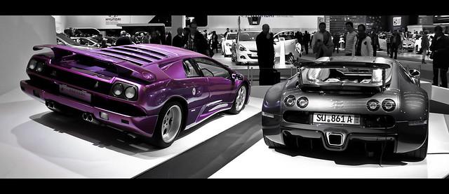 lamborghini diablo vs bugatti veyron flickr photo sharing. Black Bedroom Furniture Sets. Home Design Ideas