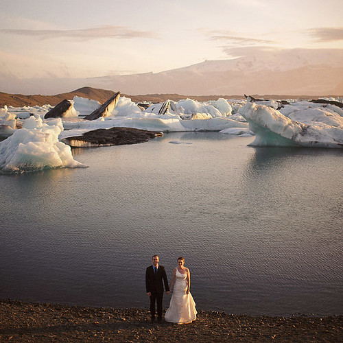 Glacier Wedding in Iceland | by Cole @ Nordica Photography