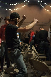 MFG Cross Awards Musical Chairs: Dancing | by Hugger Industries