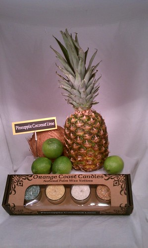 Box-Set3: Pinnaple Coconut Lime | by Orange Coast Candles