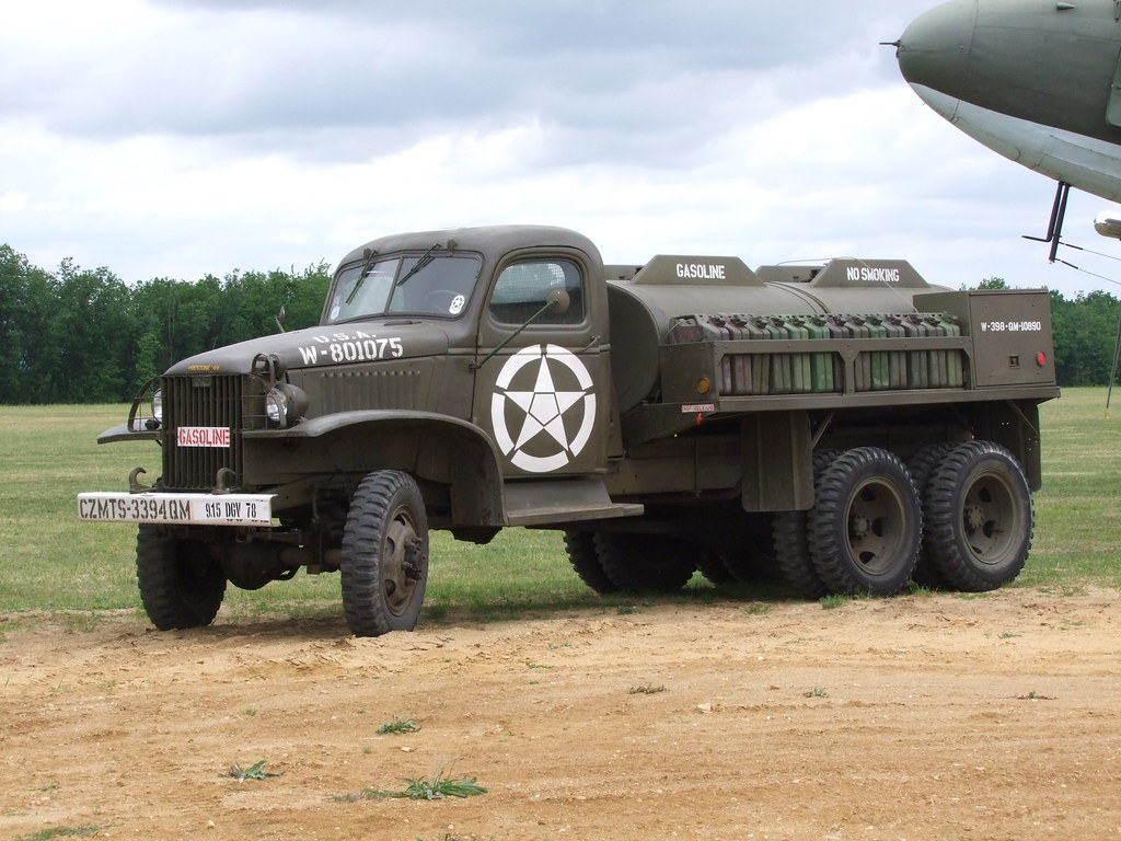 Gmc Cckw 353 D1 Tank Gasoline 750 Gallons Cabine Type