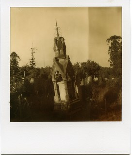 POLAROID-THE LEANING MONUMENT OF ROOKWOOD NECROPOLIS | by Eva Flaskas