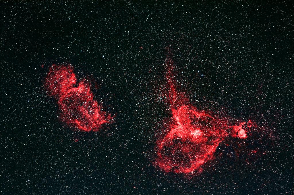 IC1805 & IC1848 - The Heart and Soul Nebula   The Heart ...
