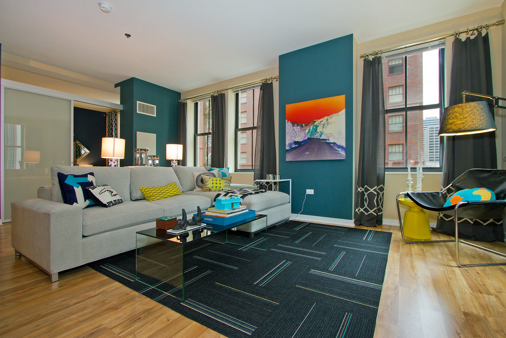 randolph tower city apartments in downtown chicago loop flickr. Black Bedroom Furniture Sets. Home Design Ideas
